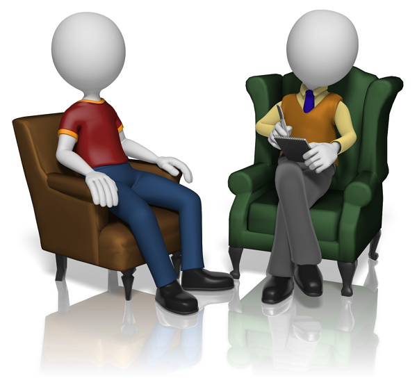 Man talking to counsellor, Swan Family Support and Drug Rehabilitation Centre