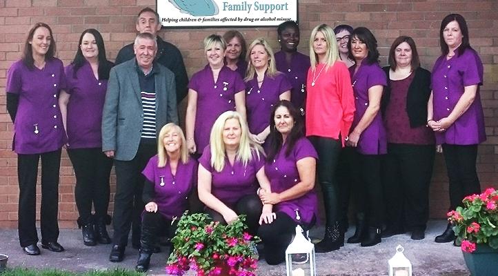 Swan Family Support and Drug Rehibilitation Centre Team Photo Fettercairn Tallaght Dublin 24