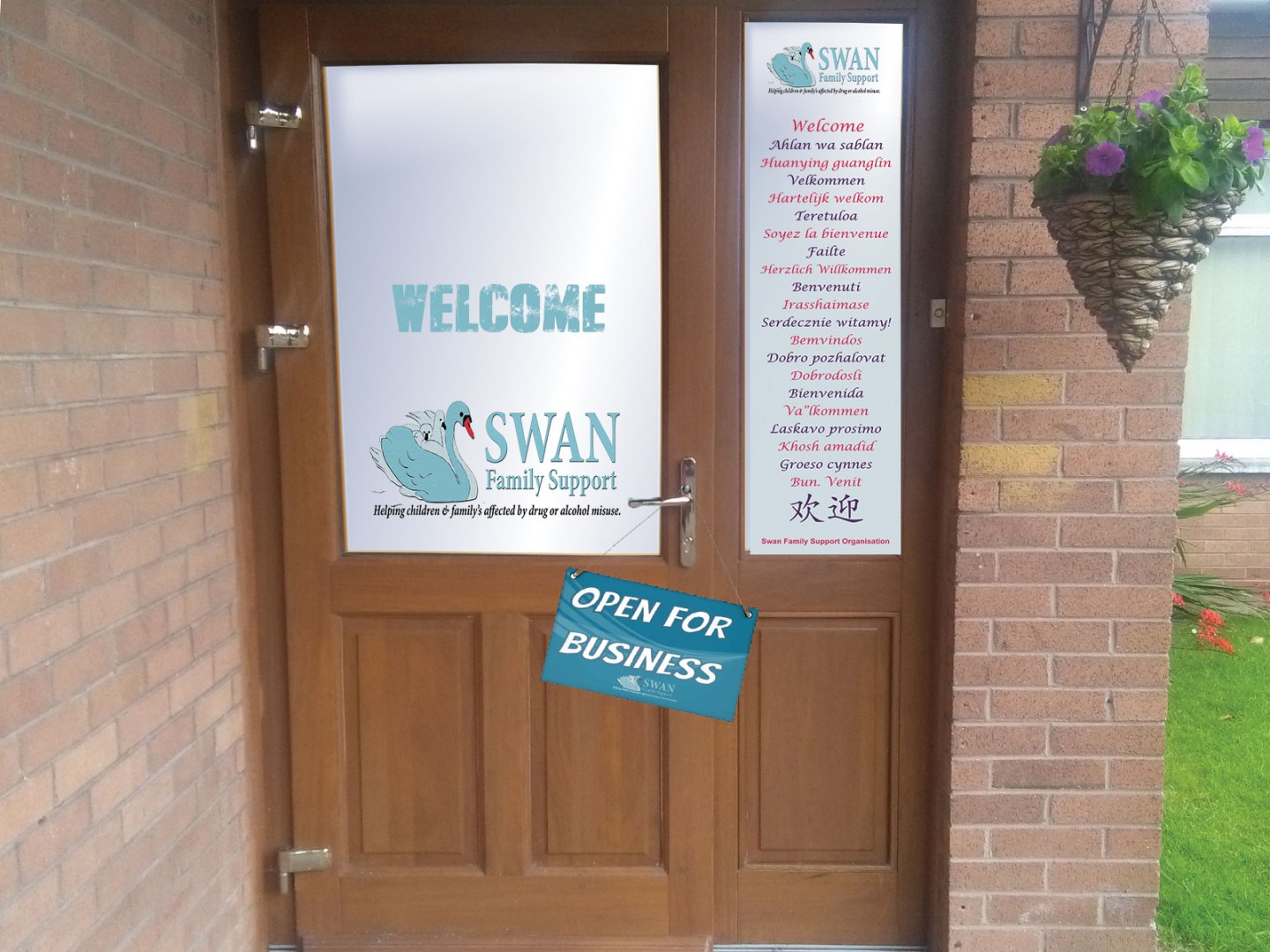 Front Door Image, Swan Family Support and Drug Rehabilitation centre