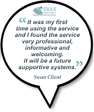 First Testimonial for the Swan Family Support and Drug Rehabilitation centre